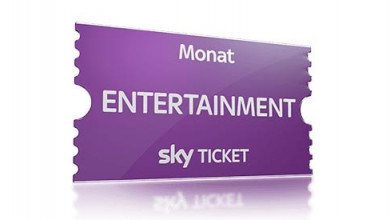 Sky Entertainment Ticket Angebot