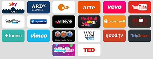 Sky Ticket TV Stick Apps